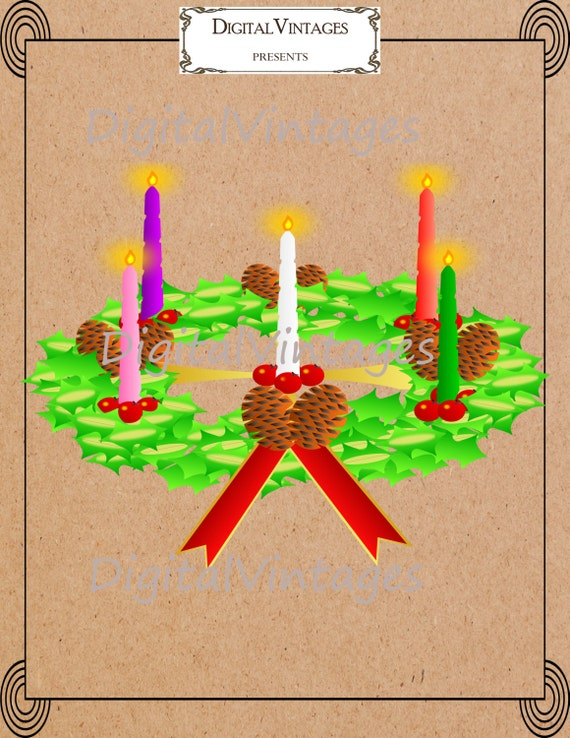 """... Results for """"Making An Advent Wreath Printable"""" – Calendar 2015"""