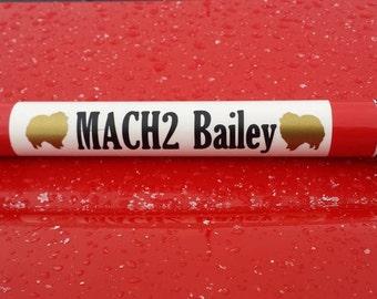 MACH/PACH bar custom decals