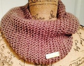 Kenzie Love Bronze Scarf:   A tight crochet design in the bronze of summer.  Soft, neutral, gorgeous cowl.
