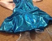 Elsa inspired leotard