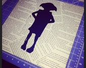 Harry Potter Book Canvas ...