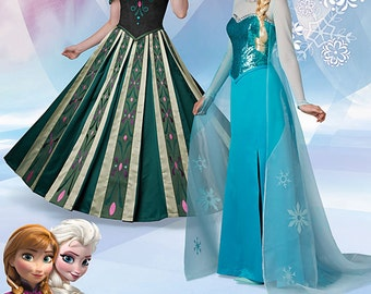 Simplicity Sewing Pattern 1215 Disney Frozen Costumes for Misses'