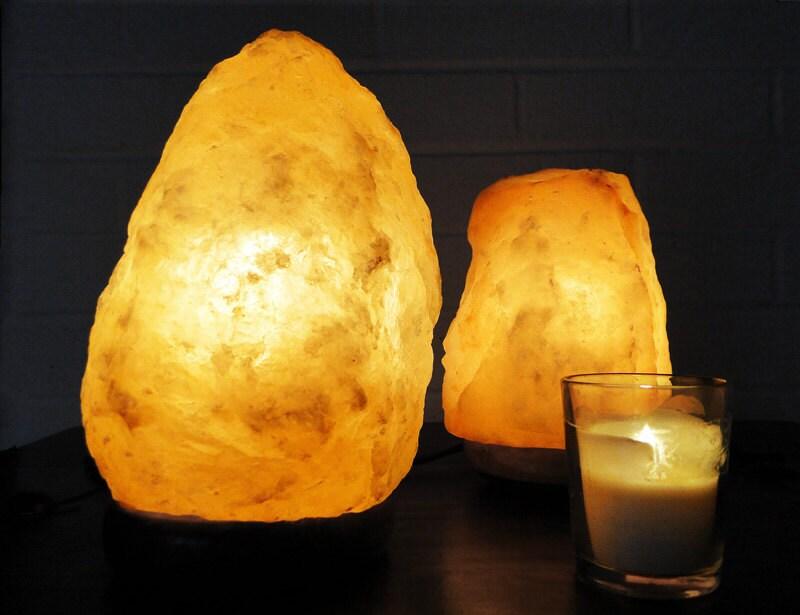 Electric Himalayan Salt Lamp Natural Form