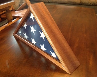 5x9.5 Flag Display Case