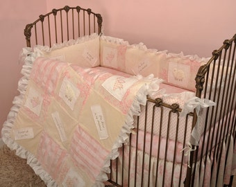 Cotton Tale Designs Heaven Sent Girl 4pc Baby Bedding