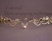 Wire Wrap Tutorial, Tiara tutorial, Wire Wrapped Diadem