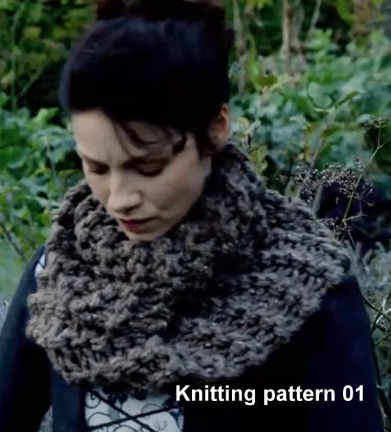 Knitting Pattern For Claire s Cowl : Outlander Inspired Claires Mobius Cowl KNITTING by KnitPlayLove