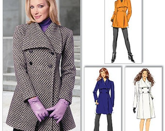 OUT of PRINT Butterick Pattern B5685 Misses' Jacket and Coat