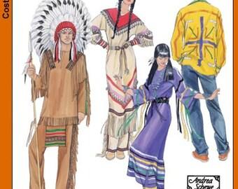 Simplicity Pattern 5446 Men and Women Native American Wardrobes