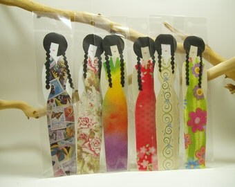 Hand Made Paper Doll Bookmarks, Paper Art, Paper Doll Art