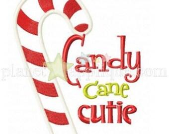 Candy Cane Cutie Onesie/Tshirt