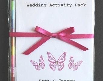 Children's Wedding Activity Pack Favour