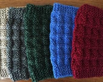 Chevron Knit Boot Cuffs