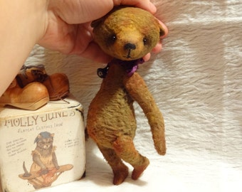 Pattern  Teddy Bear Little Phill 14-16 cm. Artist Pattern. stuffed bear. artist teddy bear.stuffed animals