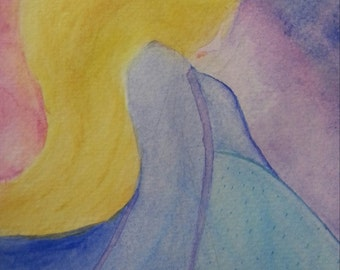 Inner Princess - Watercolor Reiki Charged Painting