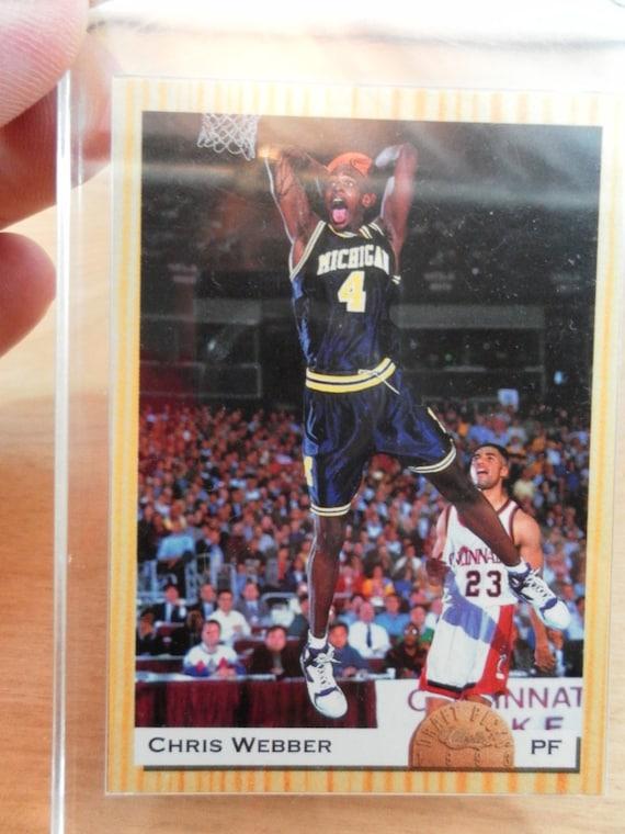 Chris Webber Classic Draft Pick Trading Card 1993/94