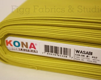 KONA Cotton in Wasabi (Color 452)