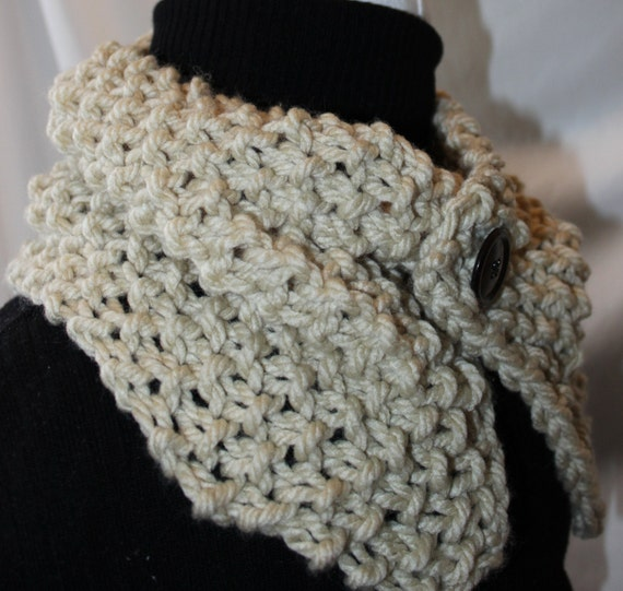 Knit Pattern Cowl Neck Warmer : Sale Knitting Pattern Neck Warmer Cowl Collar Ear Warmer