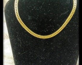 Vintage 80s Goldtone Bracelet