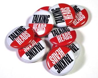 Talking Heads - True Stories Pinback Button