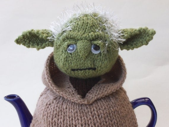 Knitting Pattern For Yoda Tea Cosy : Starwars Yoda Tea Cosy Knitting Pattern from TeaCosyFolk ...