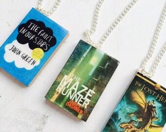 HANDMADE Mini Book Charms