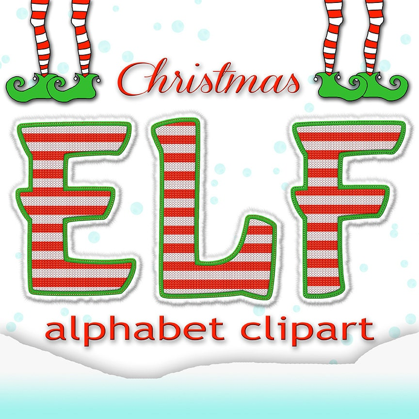 This is a graphic of Handy Christmas Letter Clipart