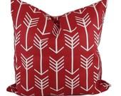 Red pillow cover, Valentines pillow, Red throw pillows, Valentine decor, Toss pillow, Sofa cushion, 12x16, 14x14, 12x18, 16x16, 18x18, 20x20