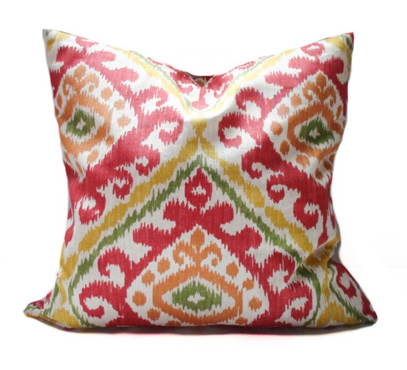 Red throw pillows 18x18 20x20 Yellow pillow covers Sofa : il570xN693494310nmlm from www.etsy.com size 570 x 519 jpeg 72kB