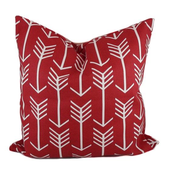 Decorative Pillow Cover Mcqueen Red Multi : Red pillow cover Valentine pillow Decorative pillow Red