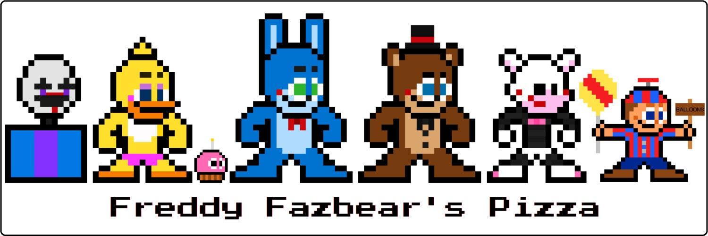8 Bit Five Nights At Freddy S 2 Mini Bumper By 8bitherodotorg