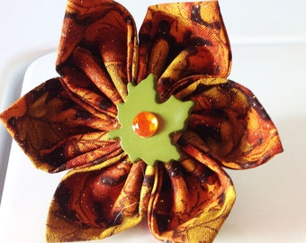 Fall Leaves Flower for Girl Dog and Cat Collar