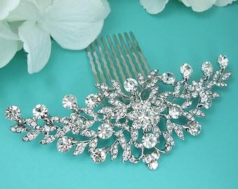 Bridal Comb, Rhinestone Comb, Bridal Comb Crystal, Wedding Crystal Hair Comb, Hair Comb, Wedding Accessory, Bridal Headpiece, Comb 214936308