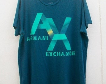On Sale! Vintage Armani Exchange T shirt Size XL.