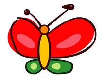 Butterfly tattoo sticker by Slamet Hariyadi