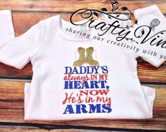 Daddys in my heart homecoming shirt