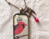 Crowned Cardinal