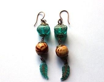 Nature-Inspired Earrings