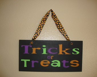 SALE SALE SALE!!! Trick or Treat Home decor