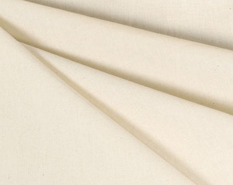 "48"" Unbleached Muslin Fabric - by the Yard"