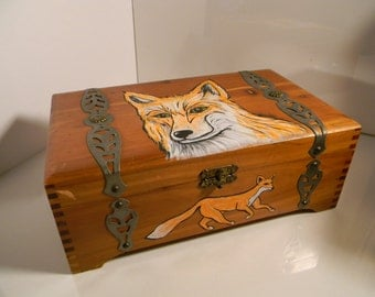 Popular items for fox boxes on Etsy
