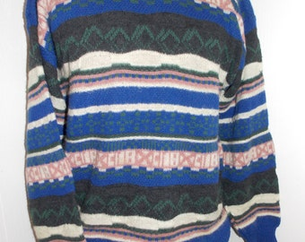 Colore Italia Mens Sweater Size Medium Crewneck