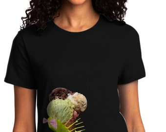 Venus Fly Trap Ice Cream Ladies Shirt