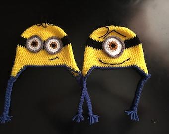 Newborn-1 yr. Despicable Me Minion Hat