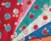 6 Fat Quarters Bundle // LECIEN - Flower Sugar / Floral Collection-30970 series
