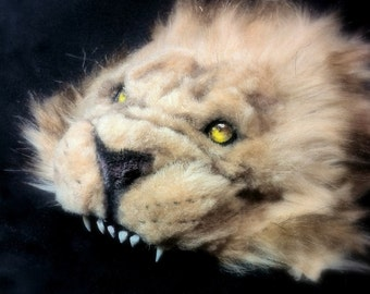 BJD (DOLL SIZE) Lion Headdress [also available in life size]