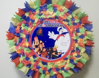 The Real Ghostbusters Pull String or Hit Pinata