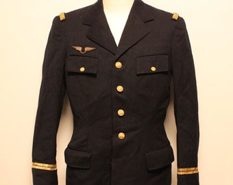 60's French  Airforce  officcer jacket made in france