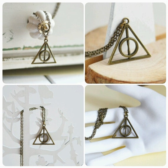 Magic Time // 2017 Best Trends // Pendant, pin-brooch and keychain // Harry Potter and the Deathly Hallows //