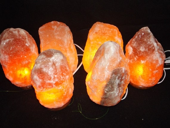 Negative Ions In Salt Lamps : Himalayan Salt Lamp Natural / Negative Ion / by SacredRockStars